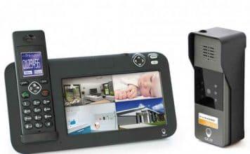 interphone sans fil video nocturne