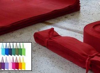 tote bag personnalisable en matière coton