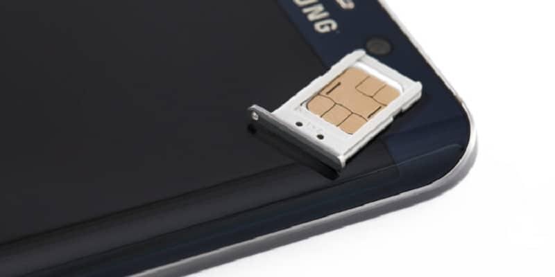 Comment mettre une carte Sim dans un Samsung